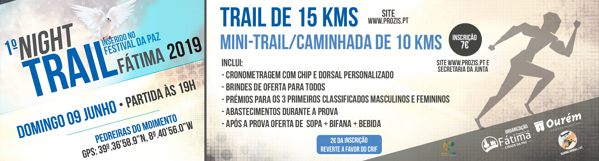 1º Night Trail Fátima 2019